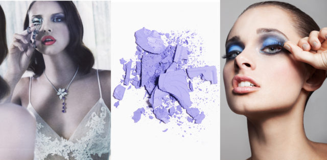 """One of the questions I am often asked as a makeup artist is """" I am wearing a blue (insert color) dress what color eyeshadow should I wear?"""