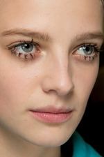 Prada Fall 2014 runway beauty