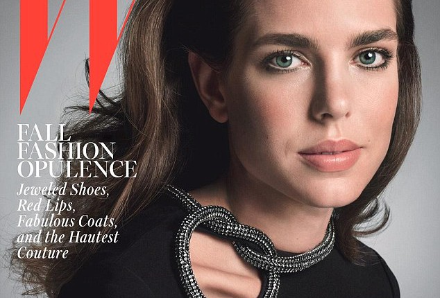 Charlotte Casiraghi for W