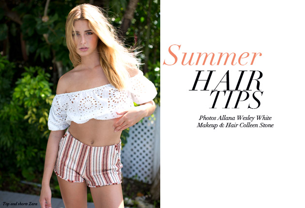 Summer-hair -tips-blushandbeyond